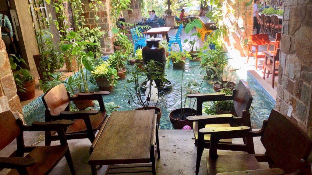 Dịch vụ thi công tiểu cảnh quán cafe giá rẻ, uy tín tại Tphcm