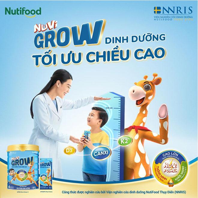 Sữa tăng chiều cao Nuvi Grow