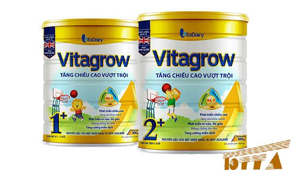 Sữa tăng chiều cao cho bé Vitagrow